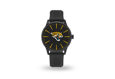 Jacksonville Jaguars Watch Men's Cheer Style with Black Watch Band