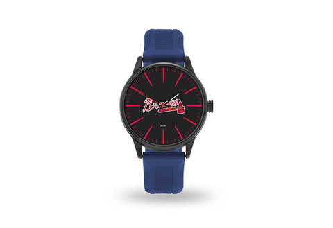Atlanta Braves Watch Men's Cheer Style with Navy Watch Band