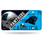Carolina Panthers License Plate Metal