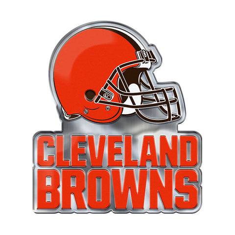 Cleveland Browns Auto Emblem Color Alternate Logo
