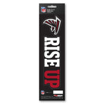 Atlanta Falcons Decal Die Cut Slogan Pack