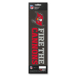 Tampa Bay Buccaneers Decal Die Cut Slogan Pack