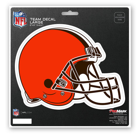 Cleveland Browns Decal 8x8 Die Cut