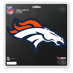Denver Broncos Decal 8x8 Die Cut