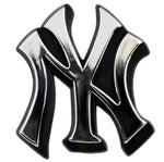 New York Yankees Auto Emblem - Silver