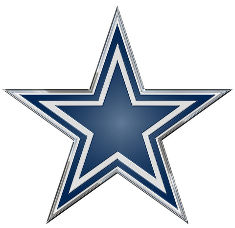 Dallas Cowboys Auto Emblem - Color