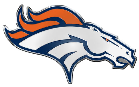 Denver Broncos Auto Emblem - Color