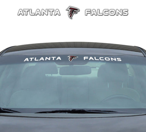 Atlanta Falcons Decal 35x4 Windshield