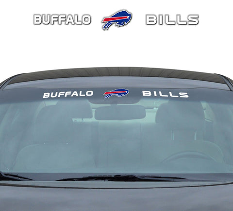 Buffalo Bills Decal 35x4 Windshield
