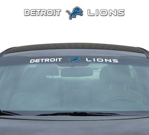 Detroit Lions Decal 35x4 Windshield