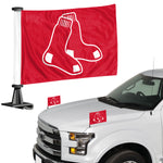 Boston Red Sox Flag Set 2 Piece Ambassador Style