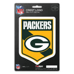 Green Bay Packers Decal Shield Design
