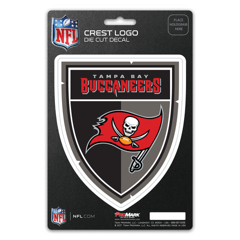 Tampa Bay Buccaneers Decal Shield Design