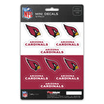 Arizona Cardinals Decal Set Mini 12 Pack
