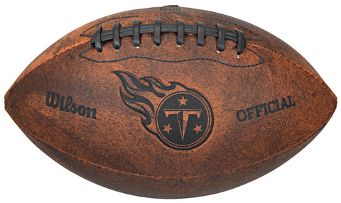 Tennessee Titans Football - Vintage Throwback - 9 Inches