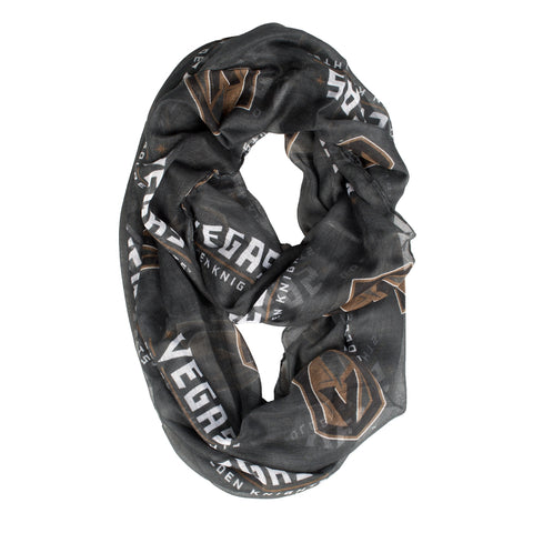Vegas Golden Knights Scarf Sheer Infinity