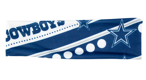 Dallas Cowboys Stretch Patterned Headband