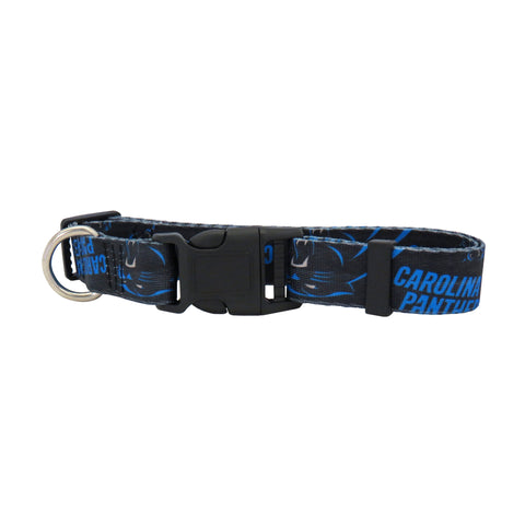 Carolina Panthers Pet Collar Size M
