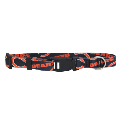 Chicago Bears Pet Collar Size S