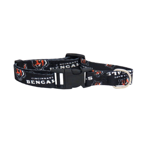 Cincinnati Bengals Pet Collar Size M