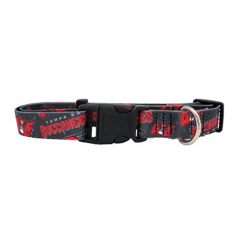 Tampa Bay Buccaneers Pet Collar Size L