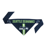 Seattle Seahawks Pet Bandanna Size S