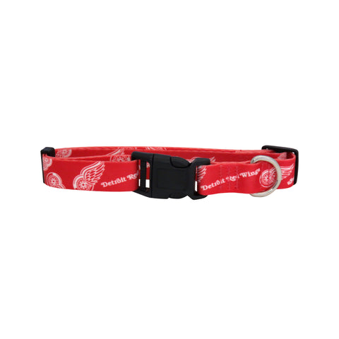 Detroit Red Wings Pet Collar Size S