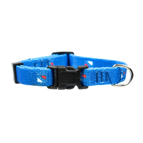 New York Rangers Pet Collar Size XS