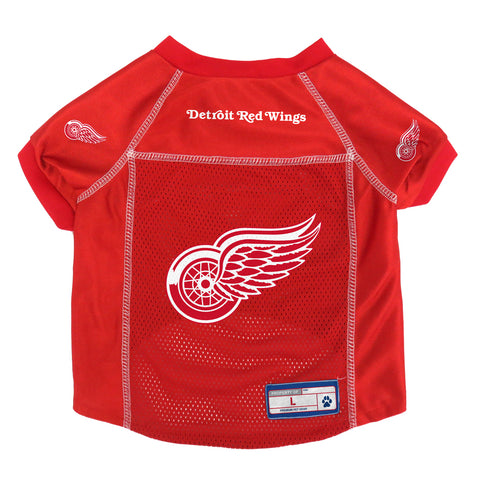 Detroit Red Wings Pet Jersey Size L
