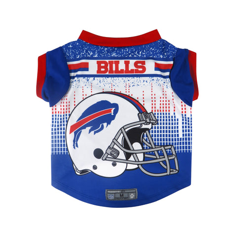 Buffalo Bills Pet Performance Tee Shirt Size XS