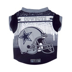 Dallas Cowboys Pet Performance Tee Shirt Size XS