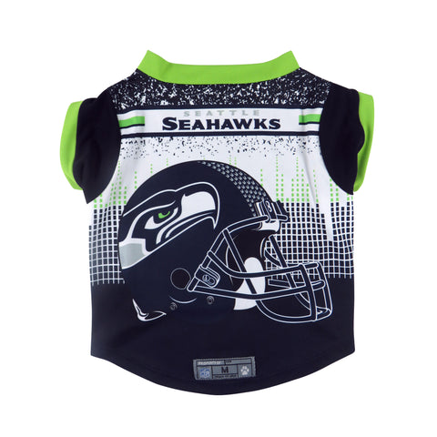 Seattle Seahawks Pet Performance Tee Shirt Size S