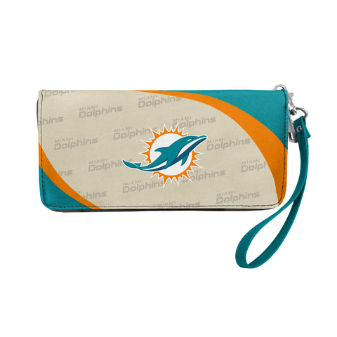 Miami Dolphins Wallet Curve Organizer Style
