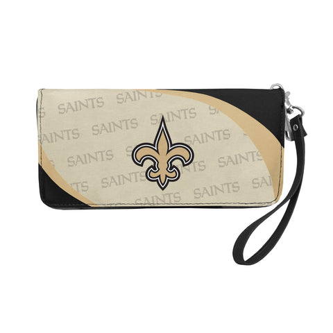 New Orleans Saints Wallet Curve Organizer Style
