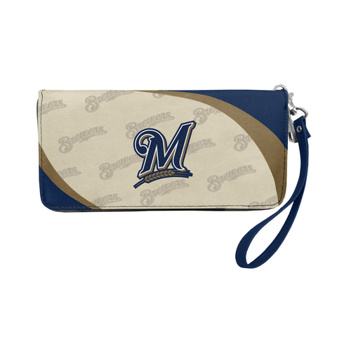 Milwaukee Brewers Wallet Curve Organizer Style