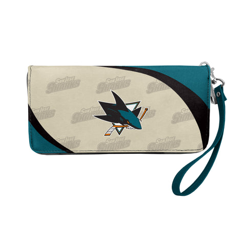 San Jose Sharks Wallet Curve Organizer Style