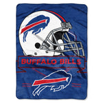 Buffalo Bills Blanket 60x80 Raschel Prestige Design