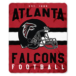 Atlanta Falcons Blanket 50x60 Fleece Singular Design