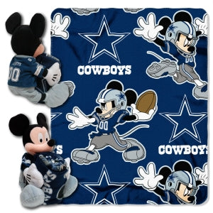 Dallas Cowboys Blanket Disney Hugger