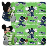 Seattle Seahawks Blanket Disney Hugger