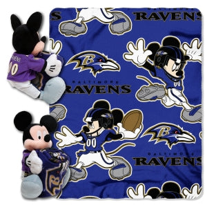 Baltimore Ravens Blanket Disney Hugger