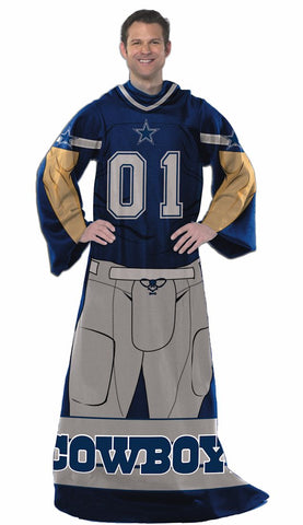 Dallas Cowboys Blanket Comfy Throw Player Design