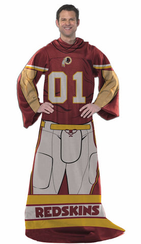 Washington Redskins Blanket Comfy Throw Player Design