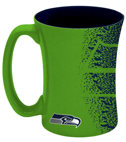 Seattle Seahawks Coffee Mug - 14 oz Mocha