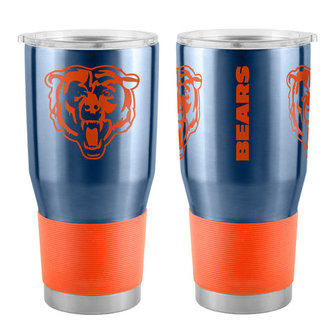Chicago Bears Travel Tumbler 30oz Ultra Navy