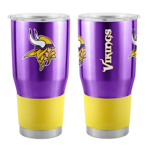 Minnesota Vikings Travel Tumbler 30oz Ultra Purple