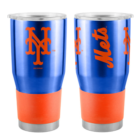 New York Mets Travel Tumbler 30oz Ultra Blue