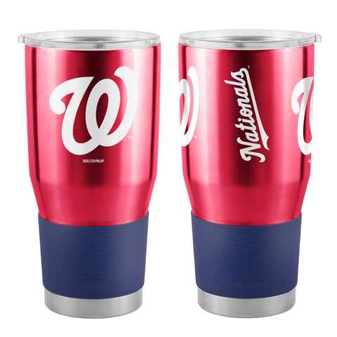 Washington Nationals Travel Tumbler 30oz Ultra Red