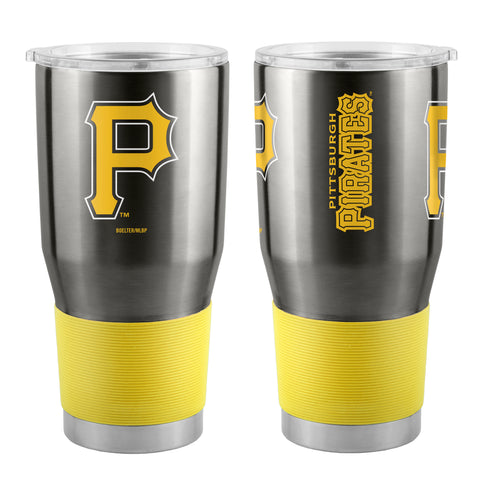 Pittsburgh Pirates Travel Tumbler 30oz Ultra Black