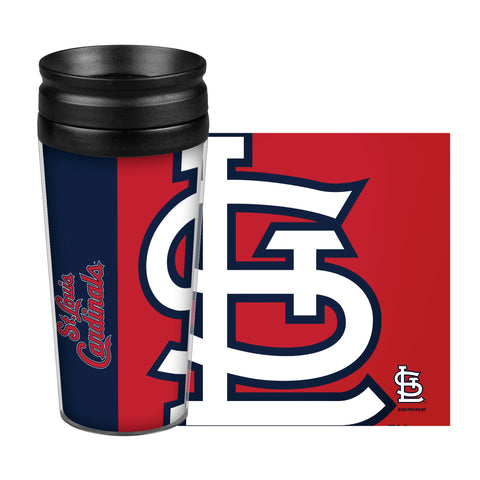 St. Louis Cardinals Travel Mug - 14 oz Full Wrap - Hype Style